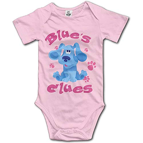 guolinadeou Grace Little Blue's Clues Dog Unisex Classic Infant Romper Baby Girl Jumpsuit Pink 6Months (Blues Clues 3)