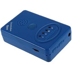TOOGOO (R) Detector Alarma de Enuresis Incontinencia Nocturna para Ninos + Sensor con Abrazadera con Indicador LED