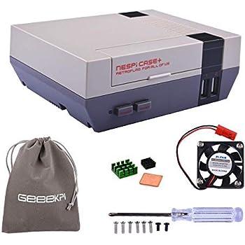 MakerFun Retro Gaming Nes4Pi Boîtier avec contrôleurs de