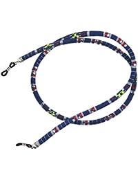 Gazechimp Cordon à Lunettes de Soleil Sport Porte-lunettes Sangle Antidérapant Coloré Cou Strap
