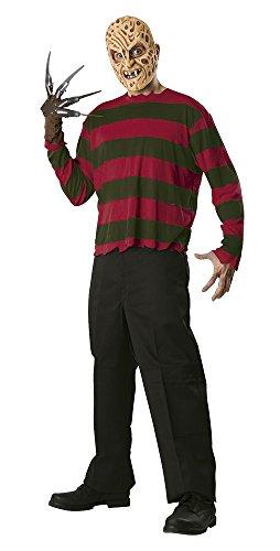 Kostüm Krueger - Rubie's offizielles Freddy Krueger Kostüm für Erwachsene, Standardgröße