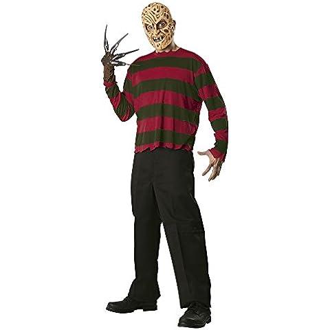 Pesadilla en Elm Street - Disfraz de Freddy Krueger, para adultos, talla única (Rubie's Spain 888434)