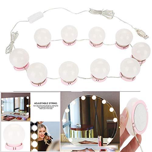 Truteraa - Weihnachten LED-Birnen-Vanity-Verfassungs-Spiegel-Kaltlicht-LED Rasierspiegel Lampe Kit-Objektiv Scheinwerfer Hollywood Style Dresser Lampe Zubehör [Typ2]