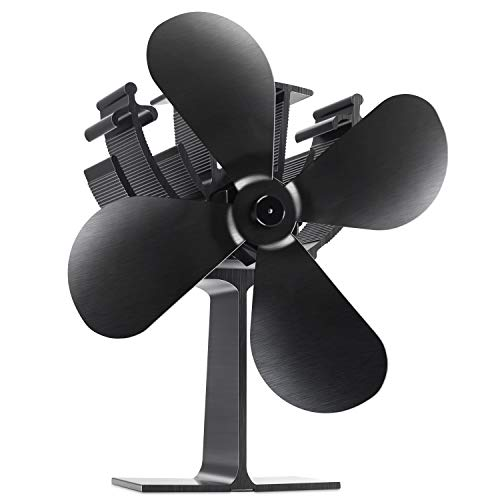 Albrillo Ventilador sin humo para chimenea Powerless Fan for Fireplace - Ventilador...