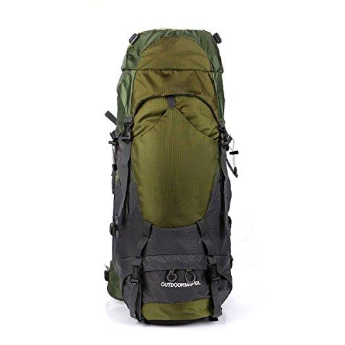 Ultra Leichte Reißen Und Wasserabweisende Nylon Handy Rucksack Tasche Wandern Dayback Taschen,Red Green