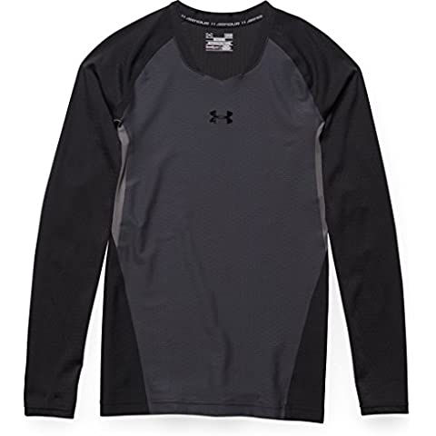 Under Armour Felpa da uomo Fitness clut chfit 2.0 Long Sleeve T, Uomo, Fitness Sweatshirt Clutchfit (Under Armour Nylon Pullover)