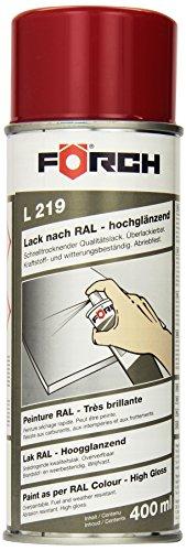 Förch Lack L 219 RAL 3002 kaminrot hochglänzend 400ml Sprühdose (Lack-sprühdose)