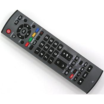 PANASONIC N2QAYB000829 PLASMA TV FERNBEDIENUNG *: Amazon ...