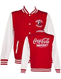 Mens Coca Cola University Varsity Jacket
