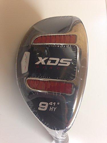 Acer XDS ibrido mano destra grafite rosso signore flex, headcover incluso numero 9 (standard grip) - Signore Golf Headcover