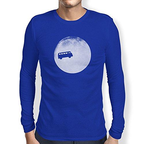 TEXLAB - Full Moon Bulli T1 - Langarm T-Shirt Marine