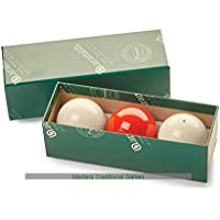 Aramith Billiard Balls (with Spot White,2and1/16 Inch, 52.5mm)