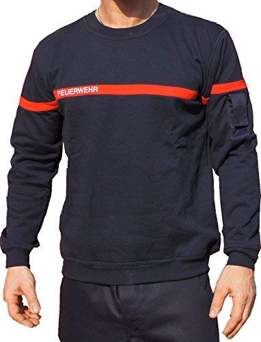 feuerwehr sweatshirt Sweatshirt FEUERWEHR mit rotem Streifen