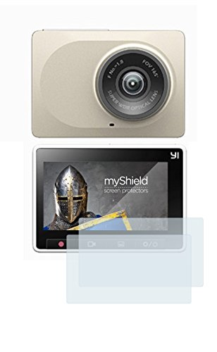 High Quality Xiaomi Yi Dashcam (2x) ANTISHOCK Screen Protector By myShield. Perfect quality and price ratio, fast EU Shipping, directly from manufacturer.