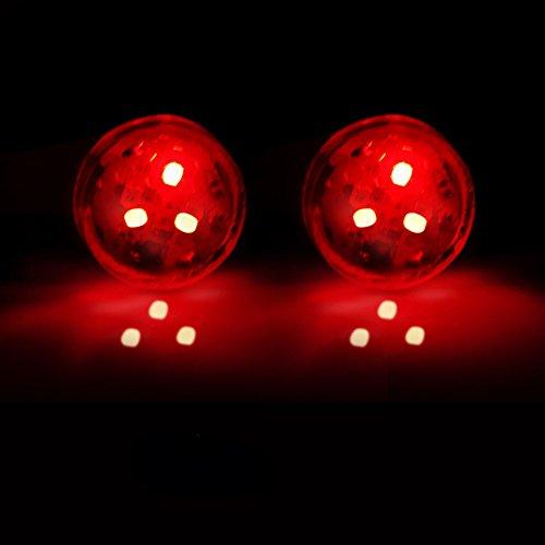 BONNIO 2 stücke Universal Auto Tür LED Geöffnet Warnung Blitzlicht Kit Wireless Anti-kollid
