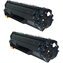 2 INK INSPIRATION® Compatible Laser Toner Cartridges for HP Laserjet Pro P1606, P1606DN, P1600, P1560, P1566, M1536DNF, M1536 MFP & Canon LBP-6200D, LBP-6200DW, LBP-6230D, LBP-6230DW | Replacement for HP CE278A & Canon CRG 726 | 2,100 Pages