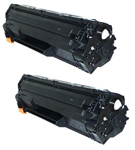 Preisvergleich Produktbild 2 INK INSPIRATION® Premium Toner für HP Laserjet Pro P1606 P1606DN P1600 P1560 P1566 M1536DNF M1536 MFP & Canon LBP-6200D LBP-6200DW LBP-6230D | kompatibel zu HP CE278A & Canon CRG 726 | 2.100 Seiten
