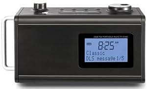 Teac R-5DAB-B - Radio digitale portatile PLL, FM/DAB/DAB+-Tuner, colore: Nero