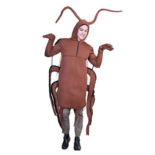 Herren Kostüm Kakerlake Siamese Performance Kleidung Länge 101 Cm Für Halloween/Karneval/Cosplay