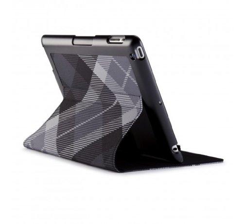 Speck SPK-A1190 Mega Plaid FitFolio für Apple iPad 3 schwarz