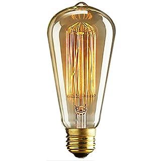 AZX Vintage Light Bulb Retro Old Fashioned Edison Style E27 Screw Light Fixture 40w 220v Glass Antique Hanging Bulb Lamp