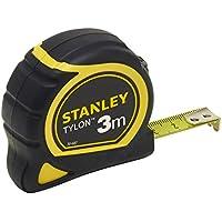 Stanley Bandmass Tylon, 3 m, Tylon-Polymer Schutzschicht, verschiebbarer Endhaken, Kunststoffgehäuse, 1-30