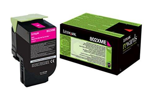 Preisvergleich Produktbild LEXMARK 802XME Toner magenta Standardkapazität 4.000 Seiten 1er-Pack corporate