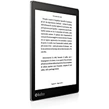 "Kobo AURA One - E-reader (pantalla 7.8"", 8 GB, WiFi, USB), color negro"