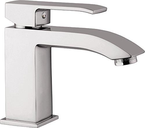 Sanitop-Wingenroth Einhandmischer Level für Waschtisch, 1 Stück, chrom, 78602 7