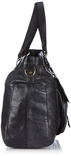 Pieces Totally Royal, Sac porté épaule Noir (Black)
