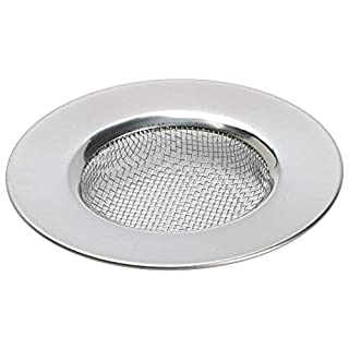 TRIXES Sink Strainer for Shower, Plug hole Hair catcher - Bath or Kitchen Sinks Stainless Steel Sink Drain Filter. 3