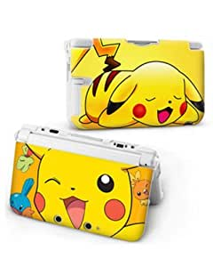 Pokemon pikachu coque de protection rigide pour nintendo for Housse 3ds pokemon