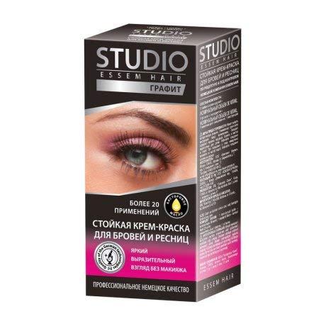 Studio Essem Hair Augenbrauen- und Wimpernfarbe 50ml (Grafit)