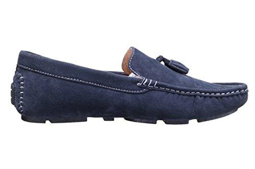 Reservoir Shoes - Mocassin Walter Moccassin Marine Bleu