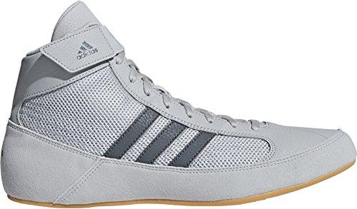 adidas Havoc - Zapatillas de Lucha, Color Gris, Gris, 44