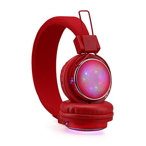 EXCELVAN Cuffie Stereo Senza Fili Bluetooth Headphones