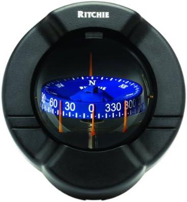 Ritchie Navigation 128-SR2 Compás Venture P / Velero Rv Bidimensional, Negro, Talla Única
