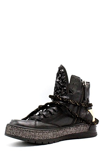 CRIME scarpe POLACCO DONNA 25901 20 BLACK AI17 Nero