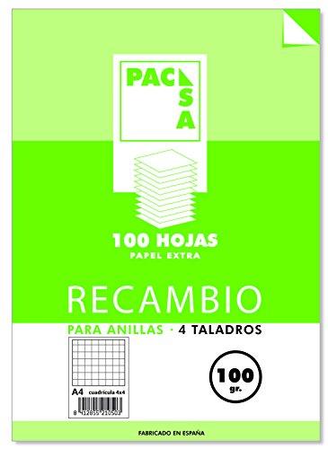 Pacsa 21050 - Bloc de recambio anillas