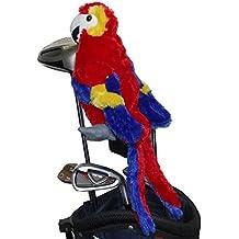 Rouge/bleu/jaune couleur Parrot Golf Animal tête couvrir pour Fairway Wood, bois 3, hybride