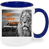 """'""""After Work Party Taza de café con diseño, impresa Taza con frases o imágenes–También personalizarla Después de elección del Cliente"""