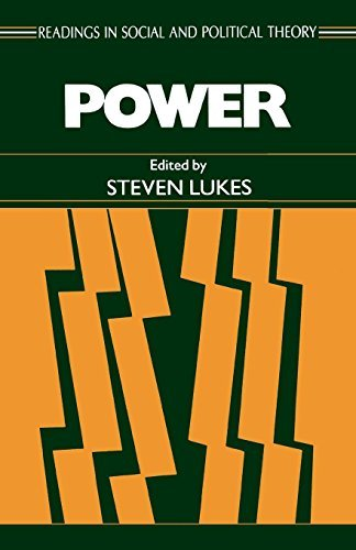 Power (Readings in Social and Political Theory, No. 4) by Steven Lukes (1986-11-01)