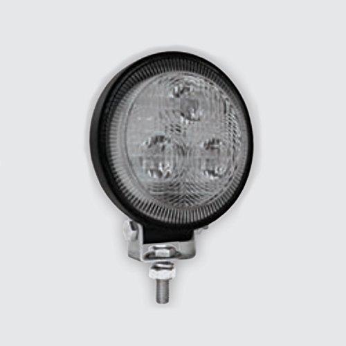 Aqua LED 12/24V Scheinwerfer IP68 Decksstrahler Suchscheinwerfer, Farbe:schwarz