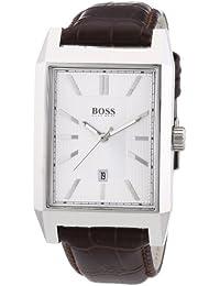 Hugo Boss Herren-Armbanduhr Analog Quarz Leder 1512916