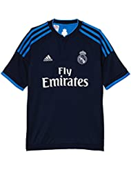 3ª Equipación Real Madrid CF - Camiseta oficial adidas para niño, talla 140