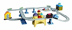 Chuggington - LC55209FR - Véhicule Miniature et Circuit - Circuit de la Vielle Ville avec Vieux Pete