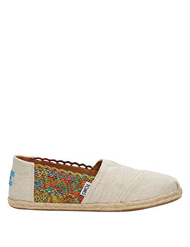 Alpargata Espadrilles natural Größe: 39 Farbe: - Damen Spitze Schuhe Toms