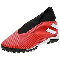 adidas Nemeziz 19.3 Turf Boots Men's Soccer Shoes, Red, 9 UK (43 1/3 EU)