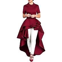 Yesmile Vestido de Mujer Falda Blanco Ropa Vestido Elegante de Noche para  Boda Fista Vestido Largo 1df5d0395ca0