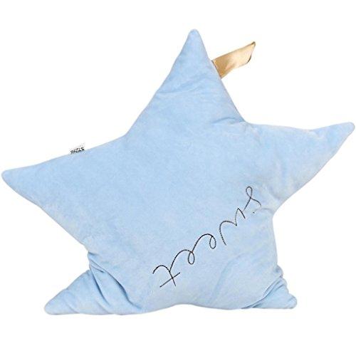 DZW Mode Einfach Sehr schön Cartoon Pentagram Schaukel-Ornamente Sofa Kissen , light blue, Eine Vielzahl von (Doppel Kuchen Herz Top)